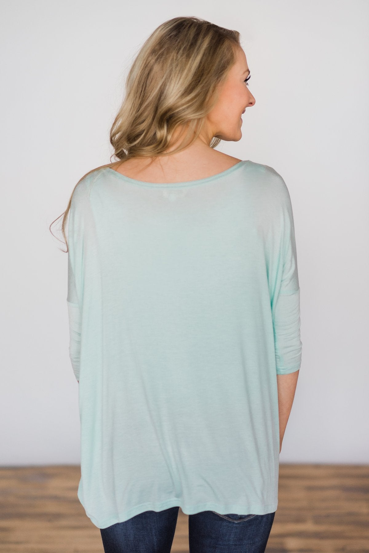 Your Everyday Casual Piko Top - Mint