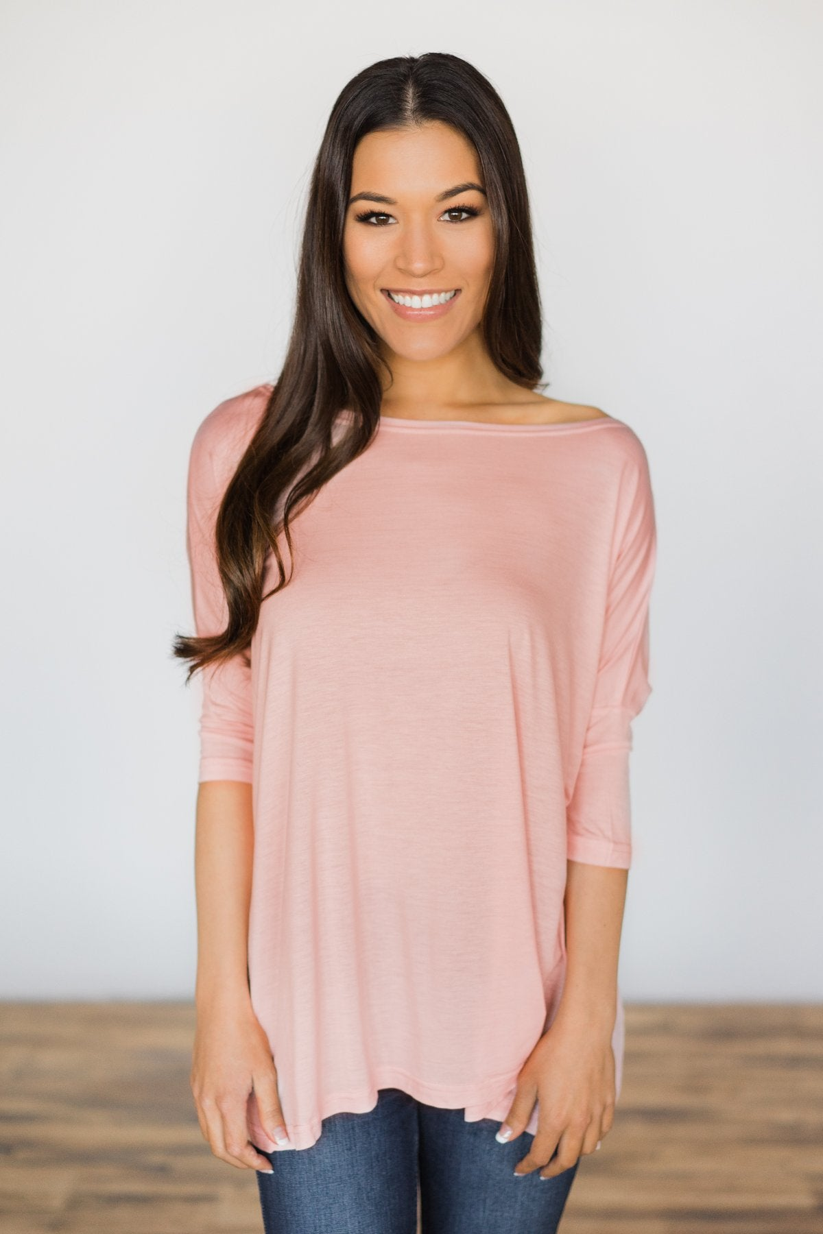 Your Everyday Casual Piko Top - Blush