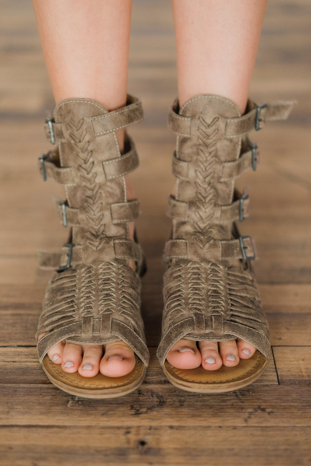 Festival Tan Sandals - Naughty Monkey