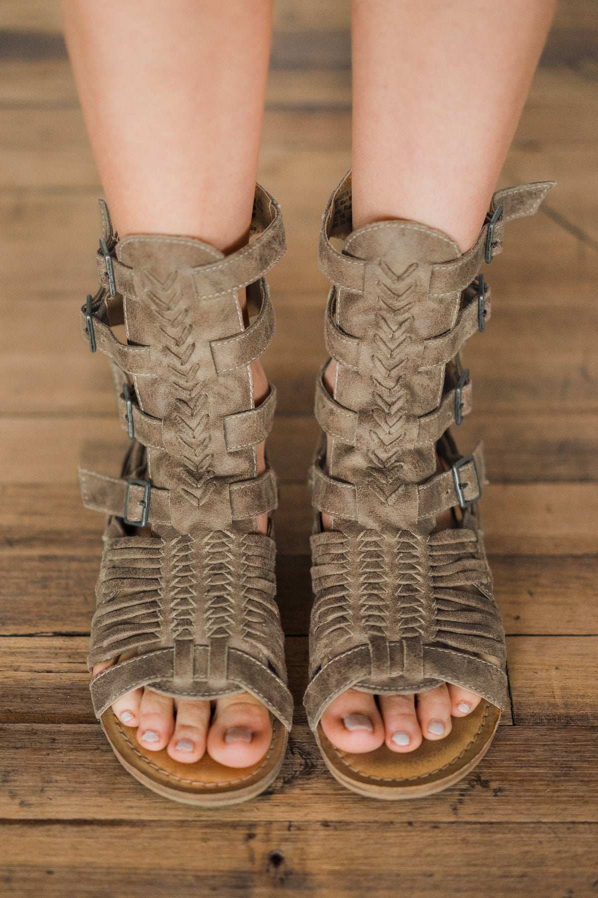 Timavo Not Rated Gladiator Sandals