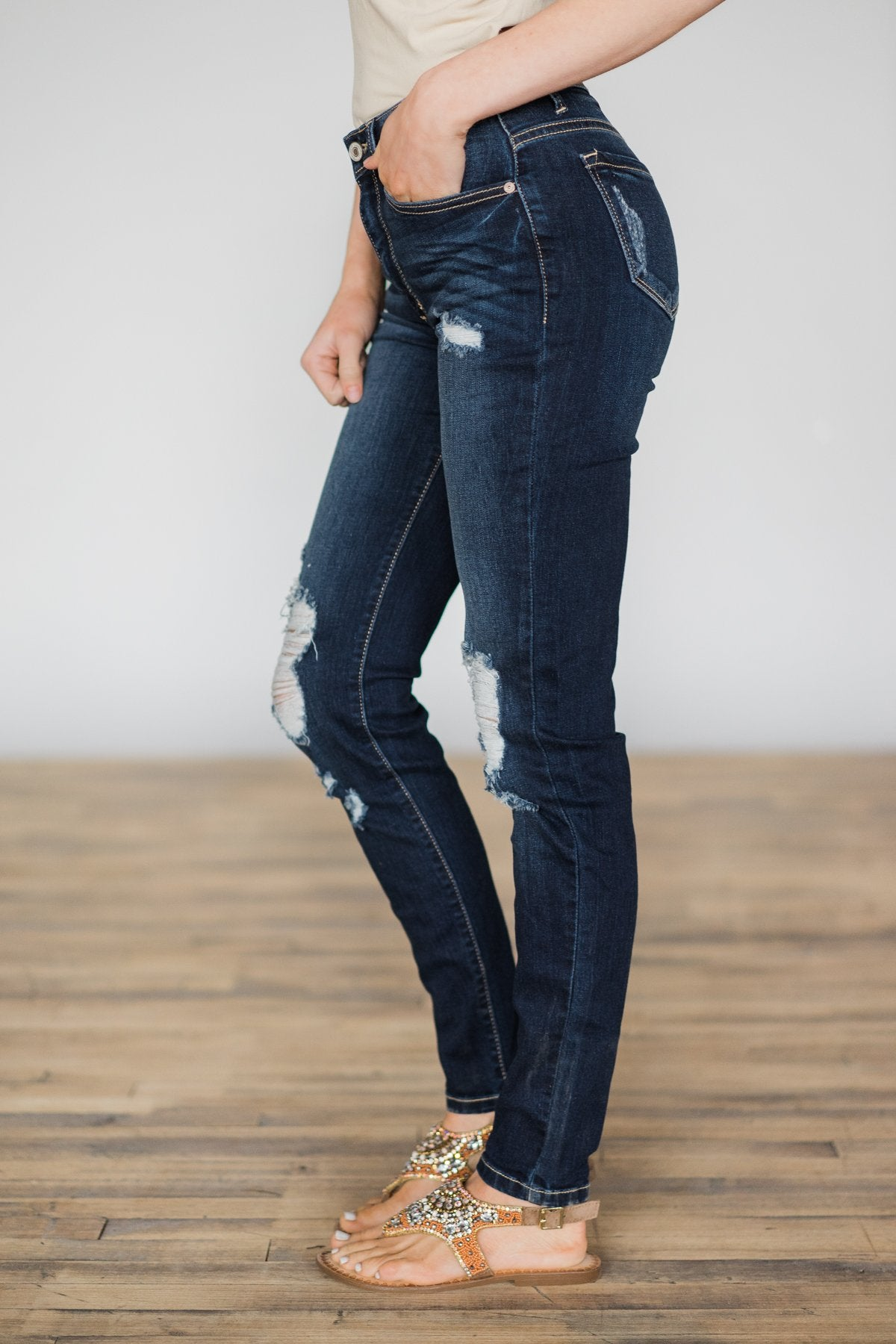 Kan Can Jeans ~ Rosey Wash