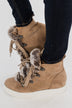Very G Shauna Wedges- Taupe