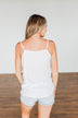 Take A Stand Crochet Tank Top- Off White