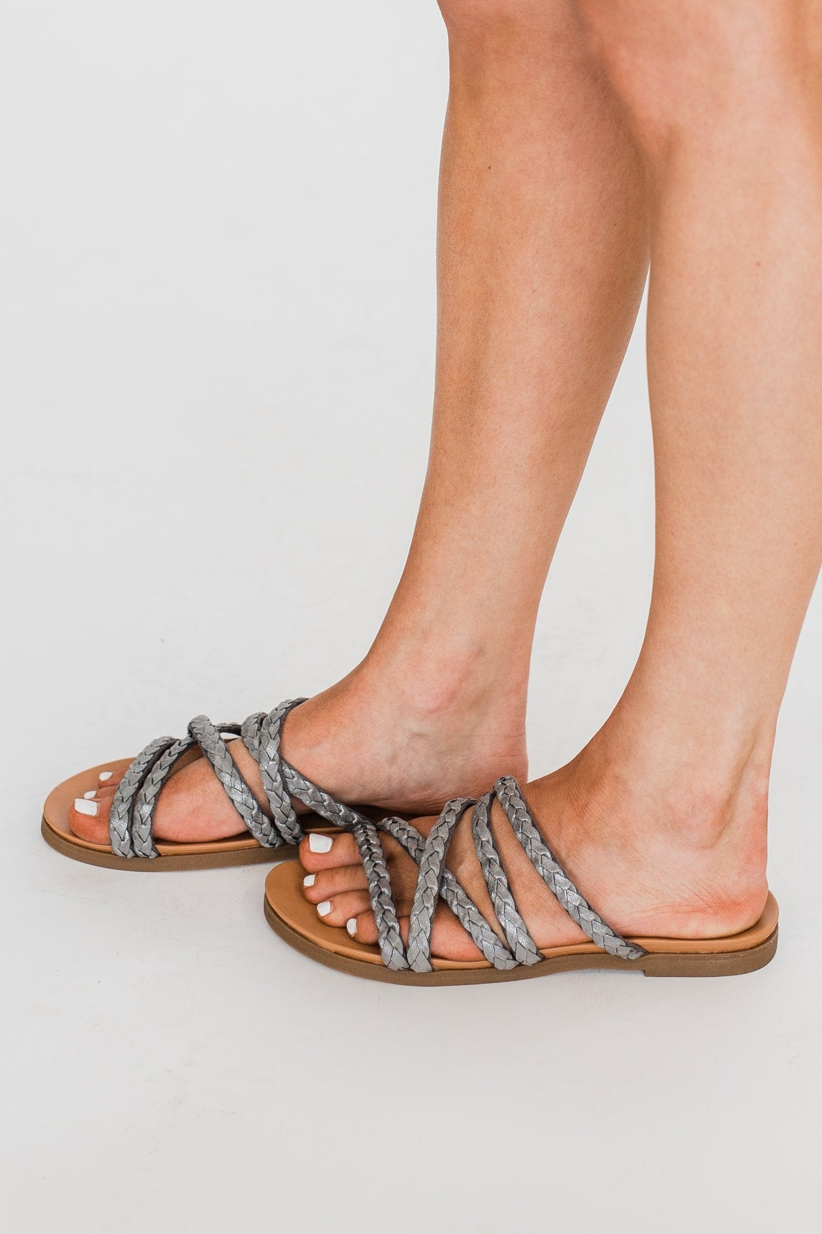 Not Rated Elion Sandals- Silver