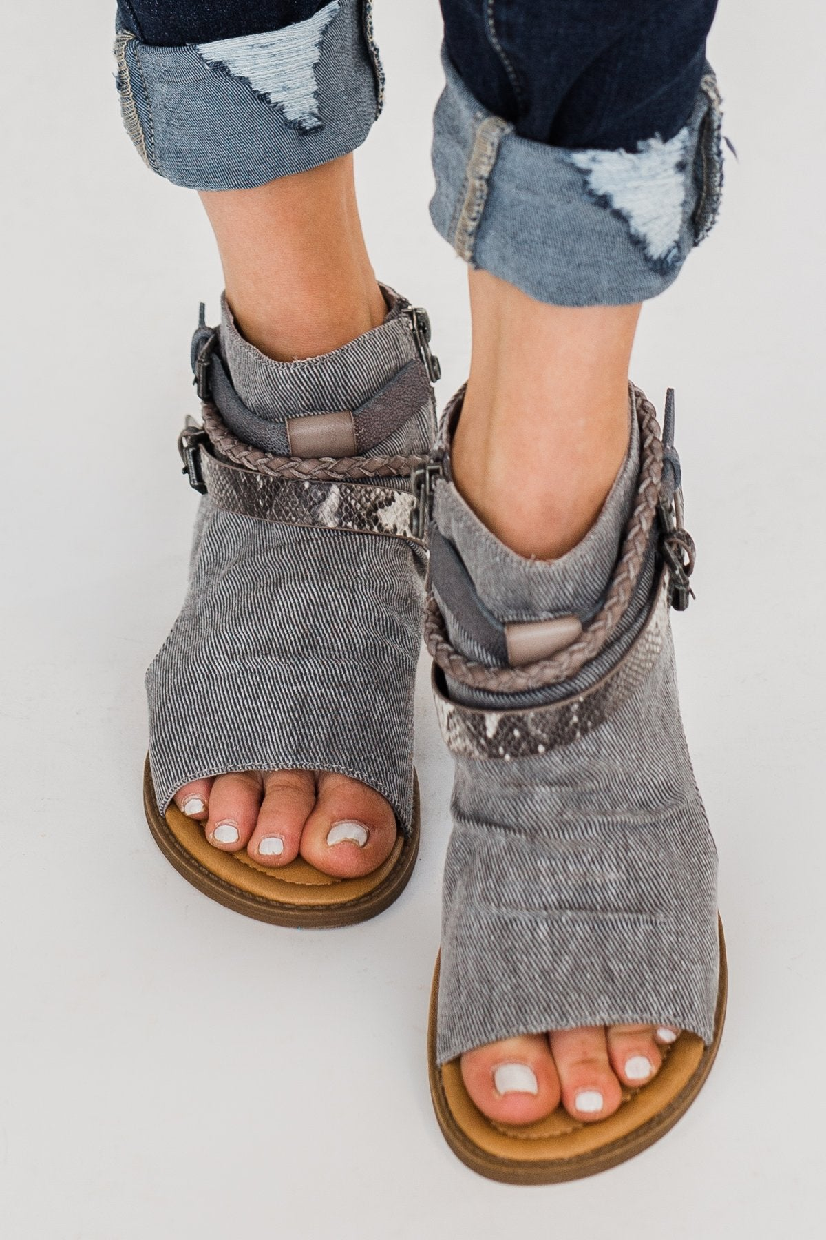 Blowfish Babie Sandals- Smokey Grey