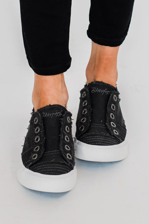 Blowfish Play Sneakers- Black Smoked