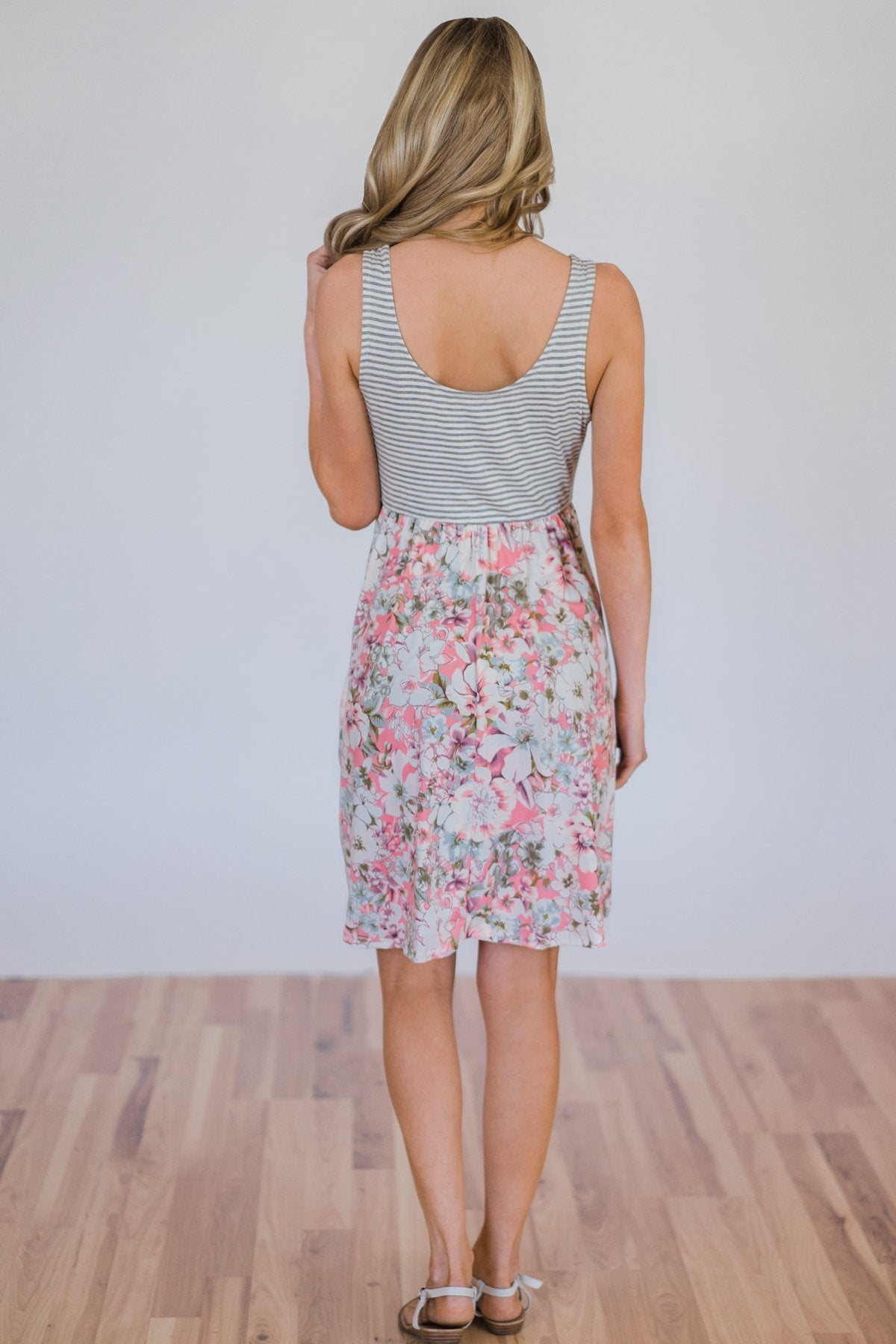 Life in Prints Floral Dress