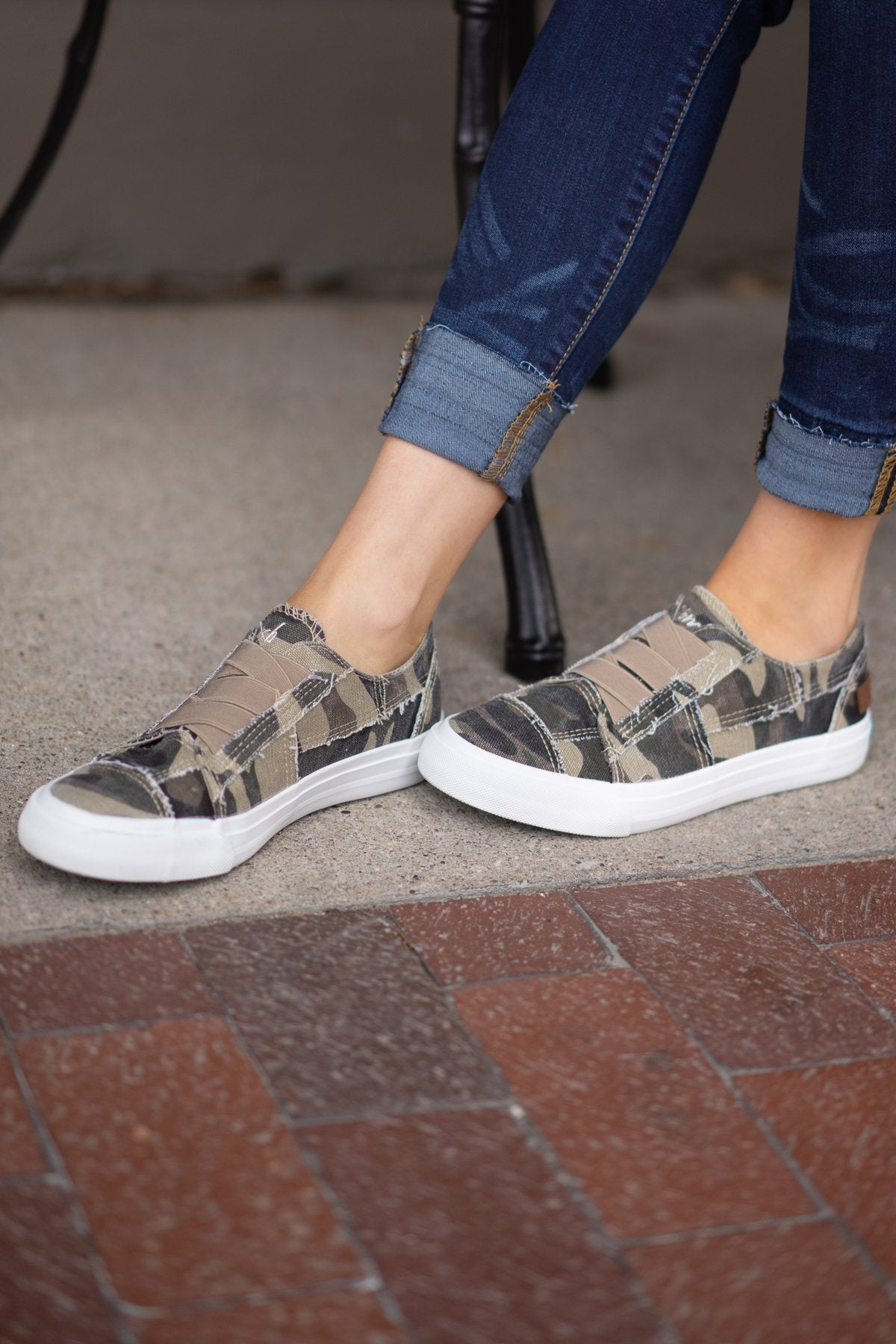 Blowfish Marley Sneakers- Natural Camouflage