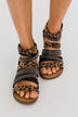 Very G Phoenix Sandals- Tan Leopard