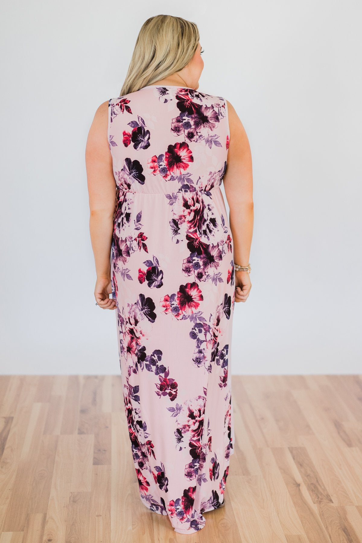 Crush On You Hi-Lo Maxi Dress- Pretty Pink