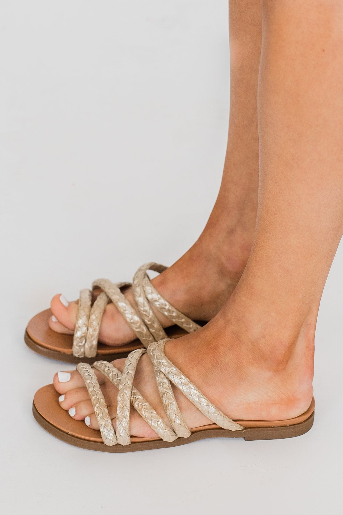Not Rated Elion Sandals- Gold