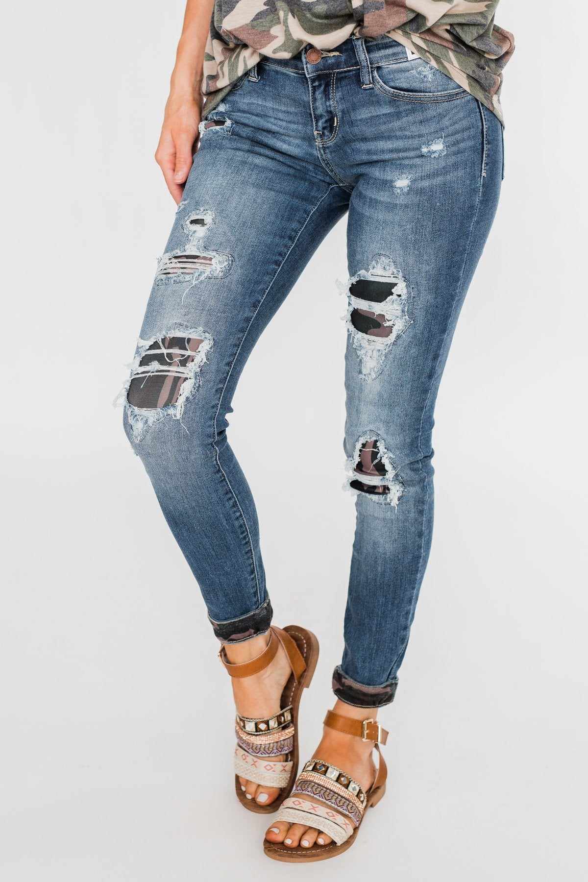 Judy Blue Jeans- Camo Patch