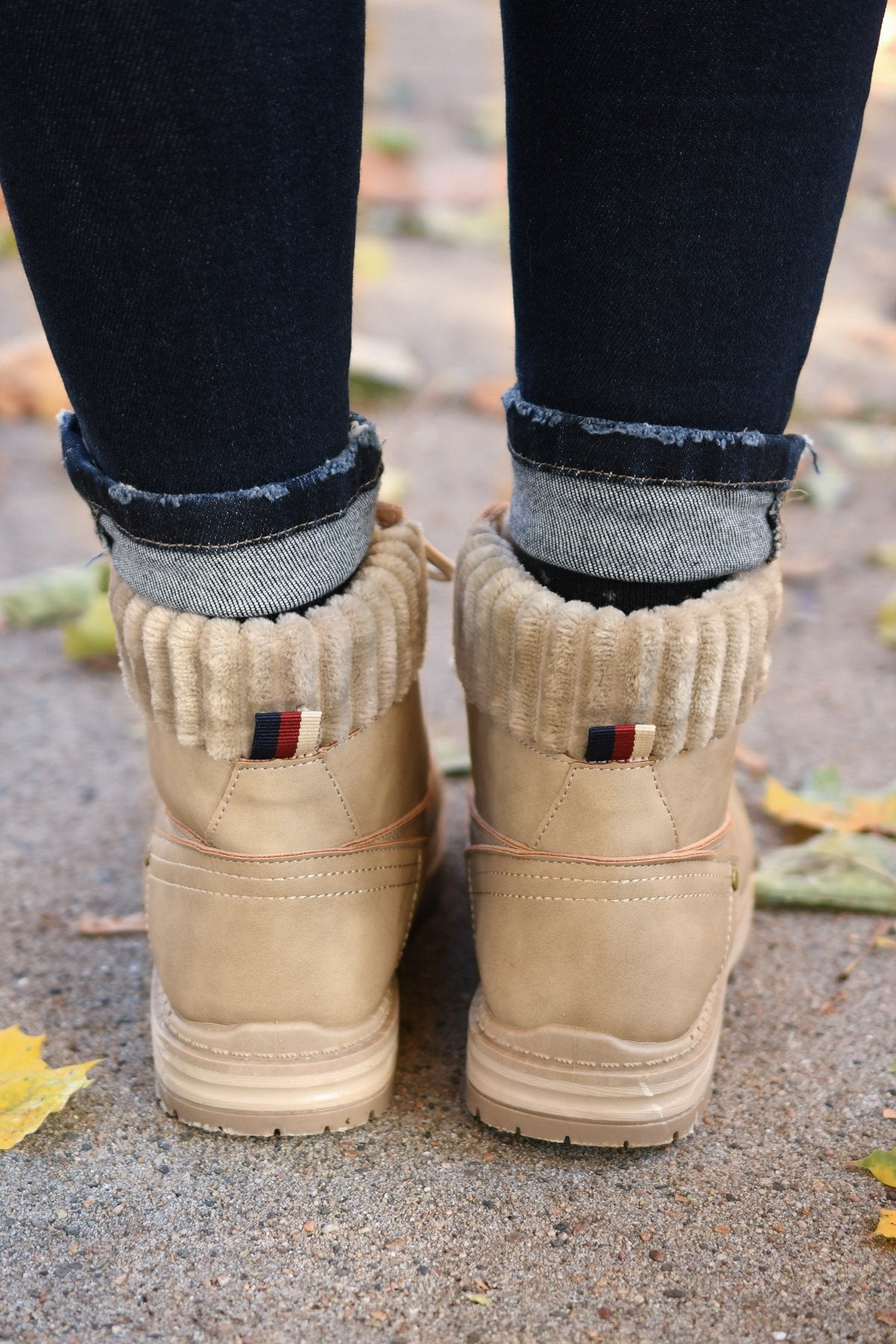 Dirty Laundry Alpine Booties- Nubuck Stone