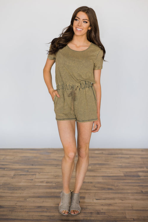 Much To My Delight Romper Outfit