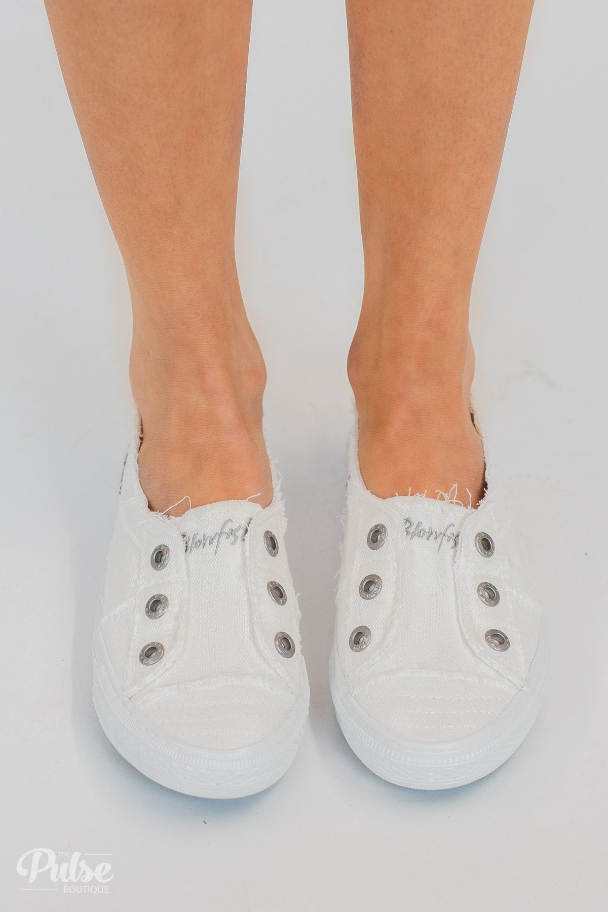 Blowfish Aussie Sneakers- White Smoked