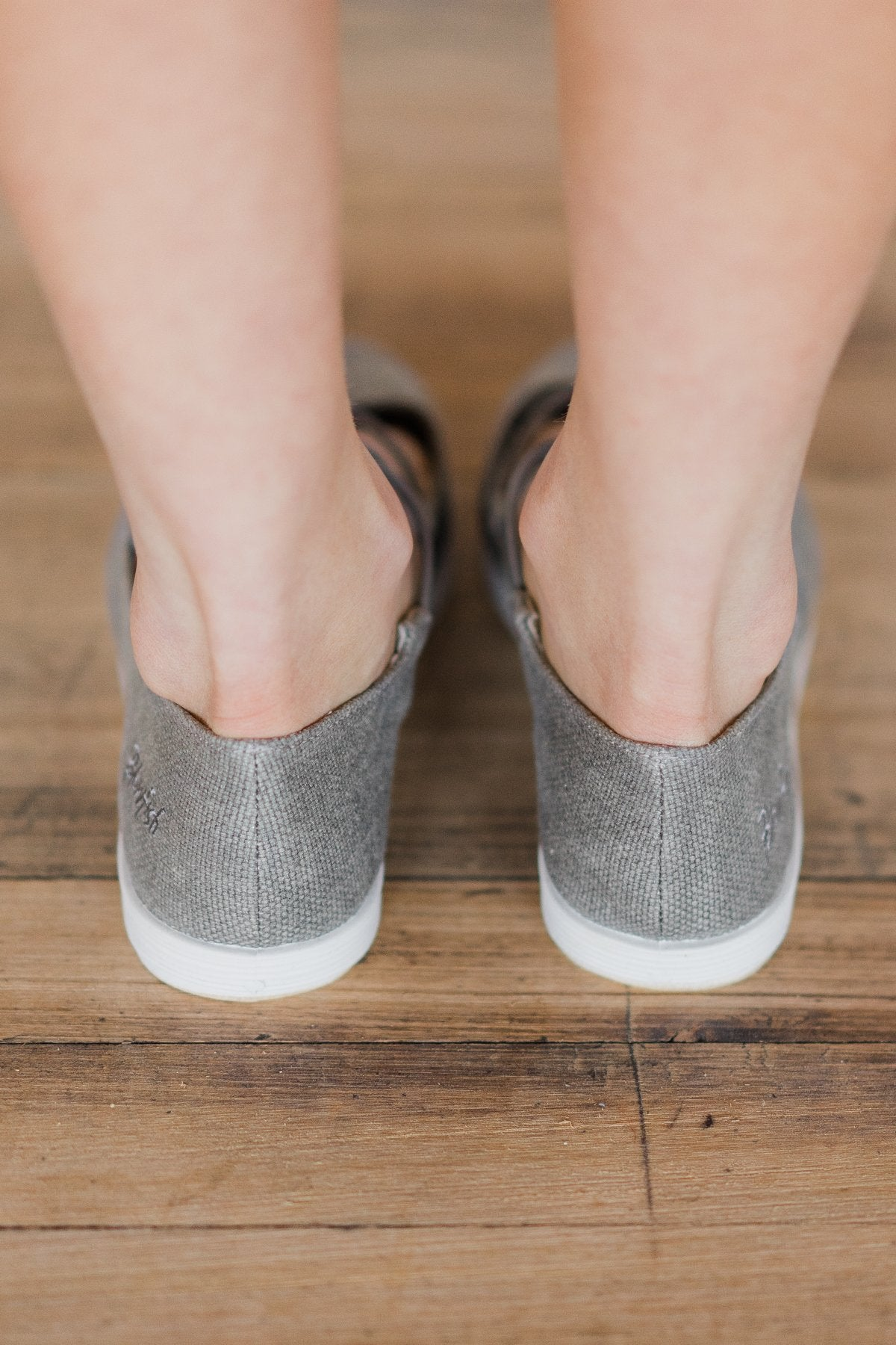 Gastby Blowfish Pewter Flats