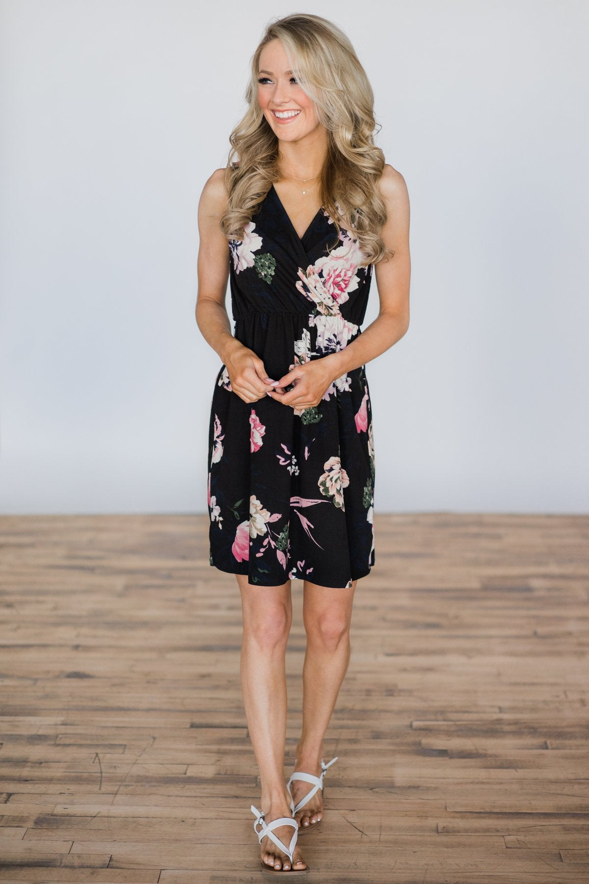 A Touch of Perfection Floral Dress