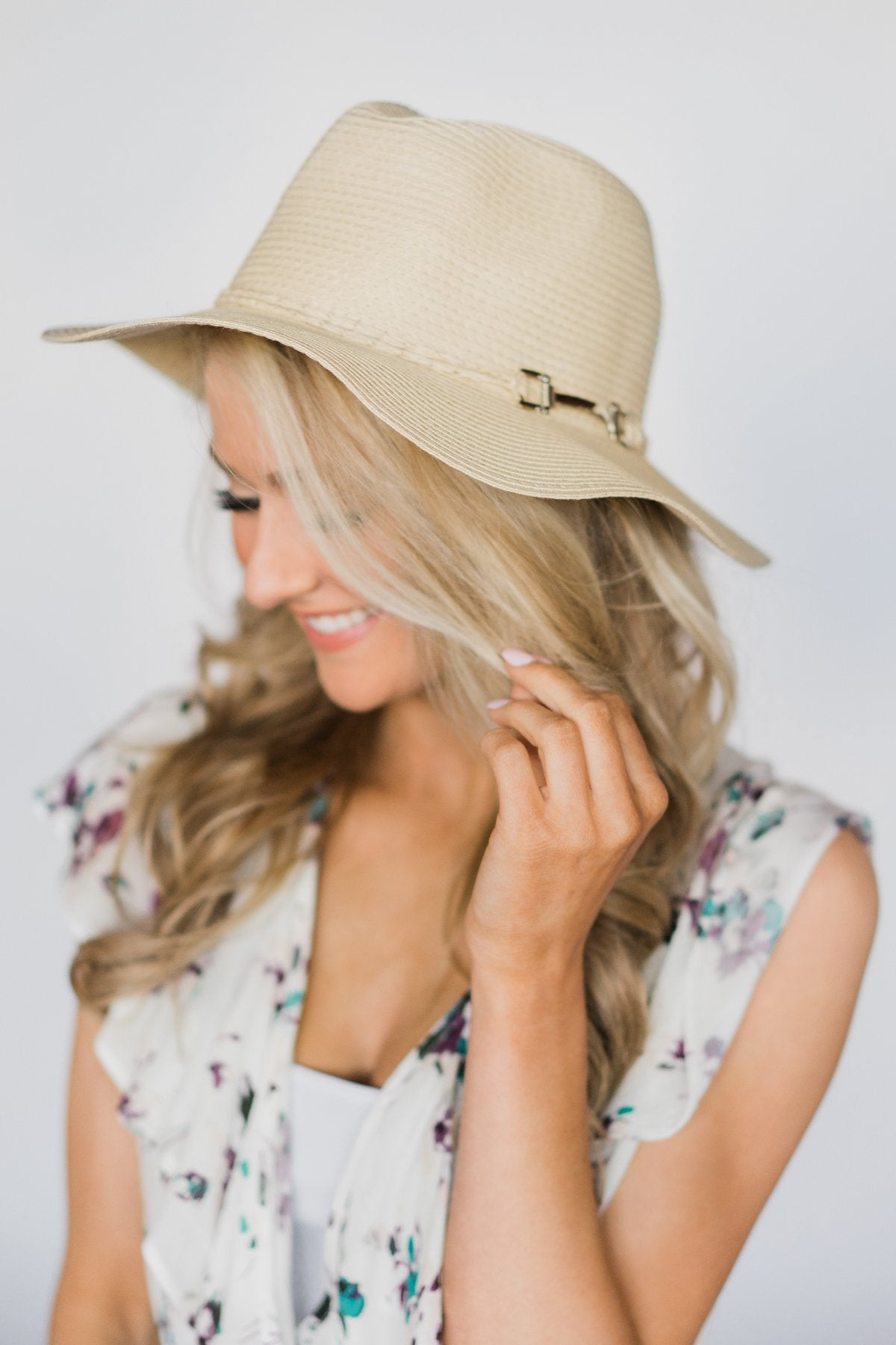 Paper Braid Cream Floppy Hat – The Pulse Boutique e3eb7c32a2ea