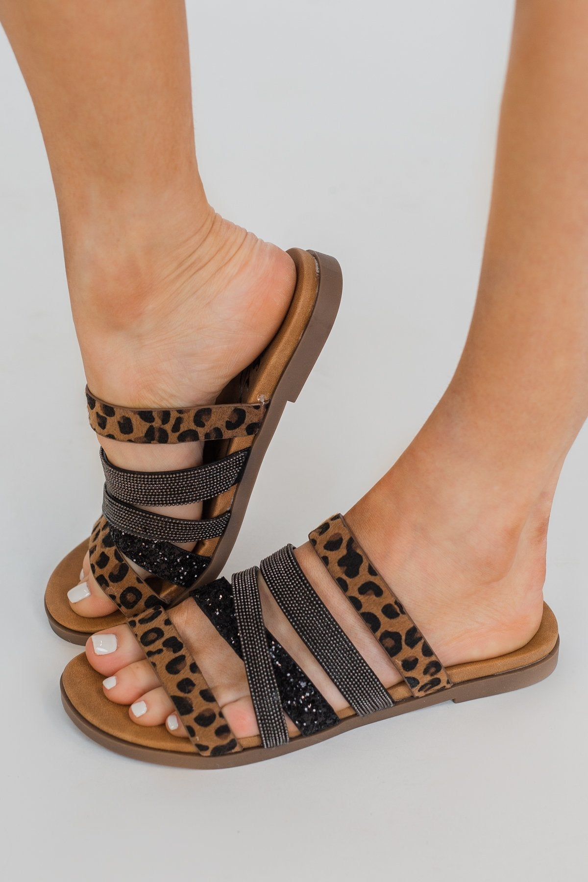Very G Ginger Sandals- Leopard