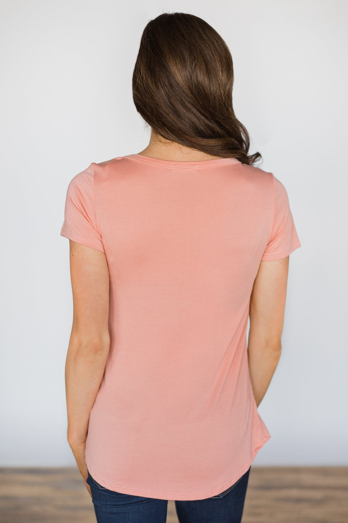 Loves Got a Hold on You Top ~ Peach