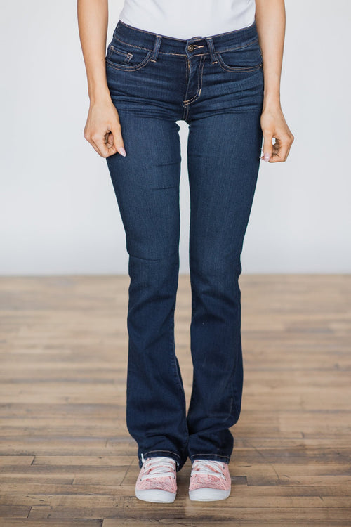 Sneak Peek Jeans- Medium Wash Leanne