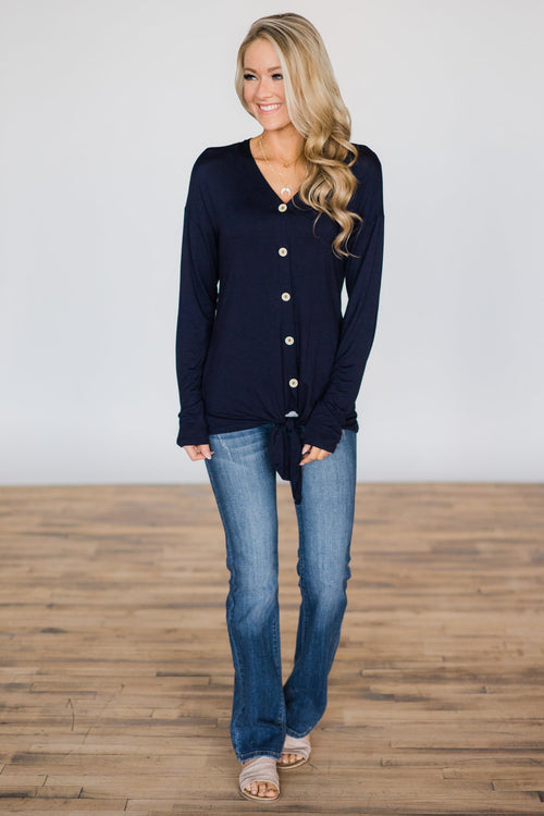 Navy Weekend Comfort Outfit