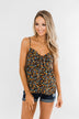 Better Than I Was Floral Bow Tie Tank Top- Black Multi
