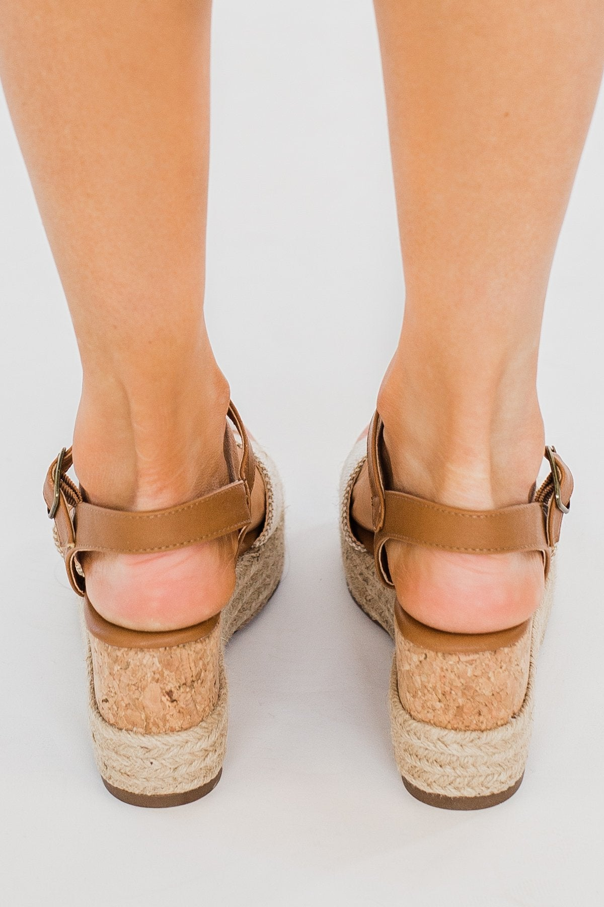 Sugar Koko Wedges- Natural Cognac