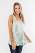 Highlight Of Your Life Babydoll Tank Top- Mint