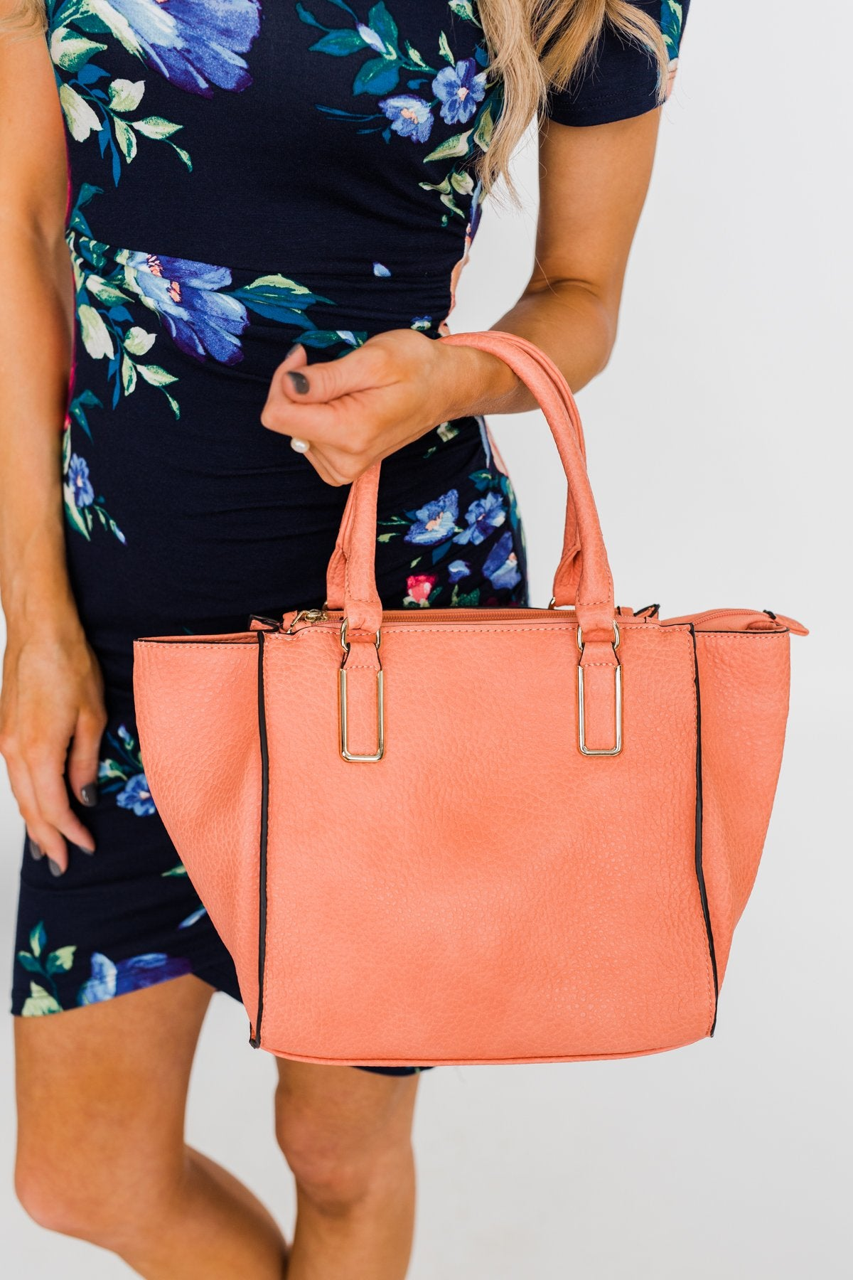 Stylish Handbag- Peach