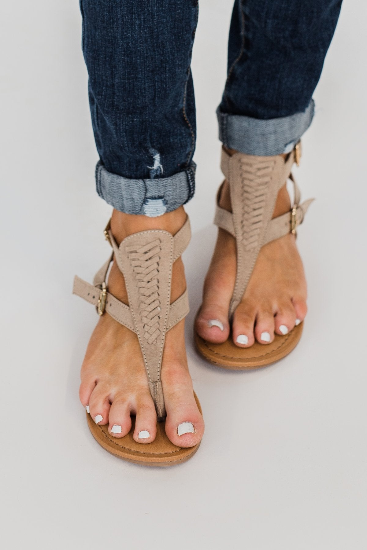 Not Rated Felix Sandals- Nude