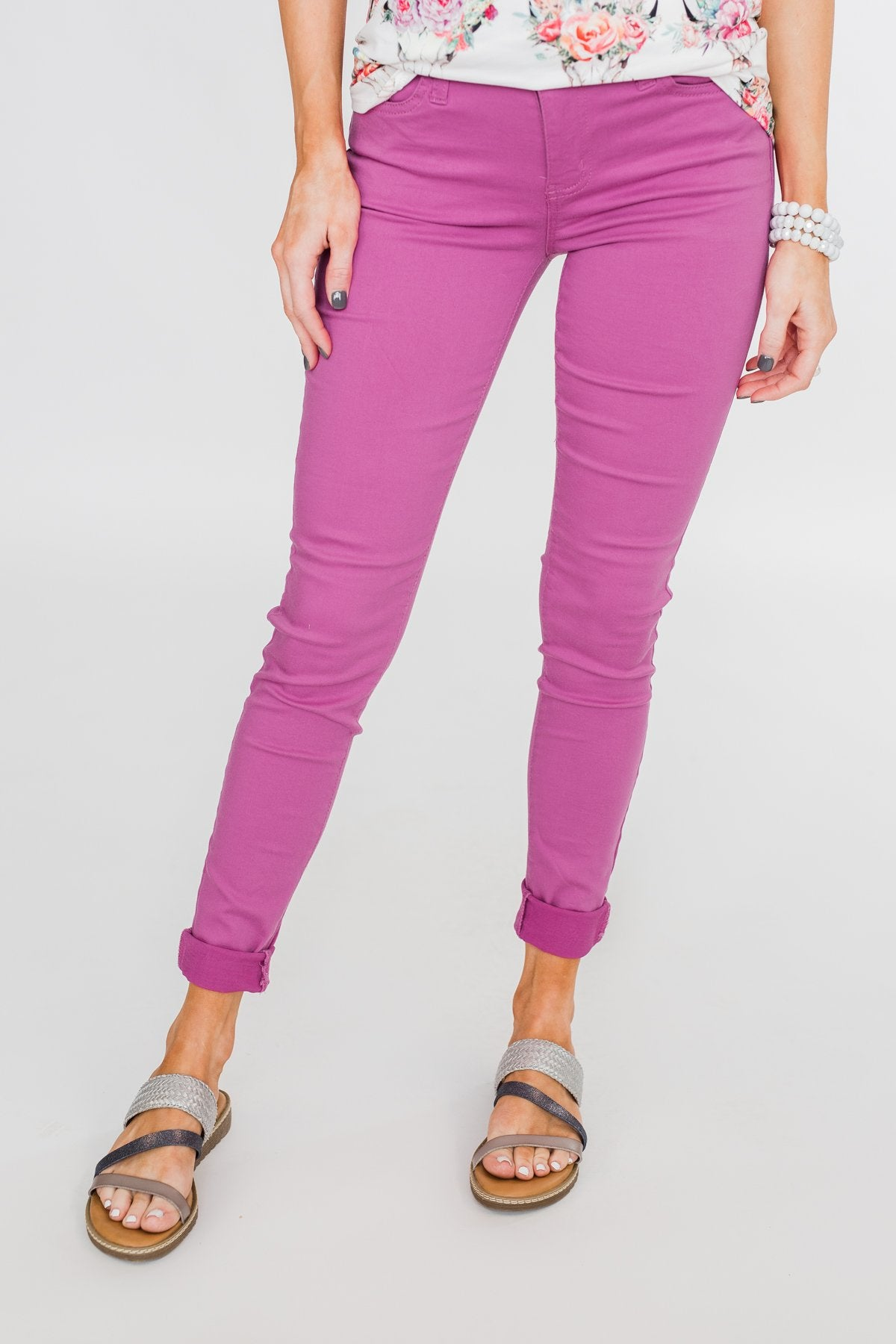 Celebrity Pink Skinny Jeans- Orchid