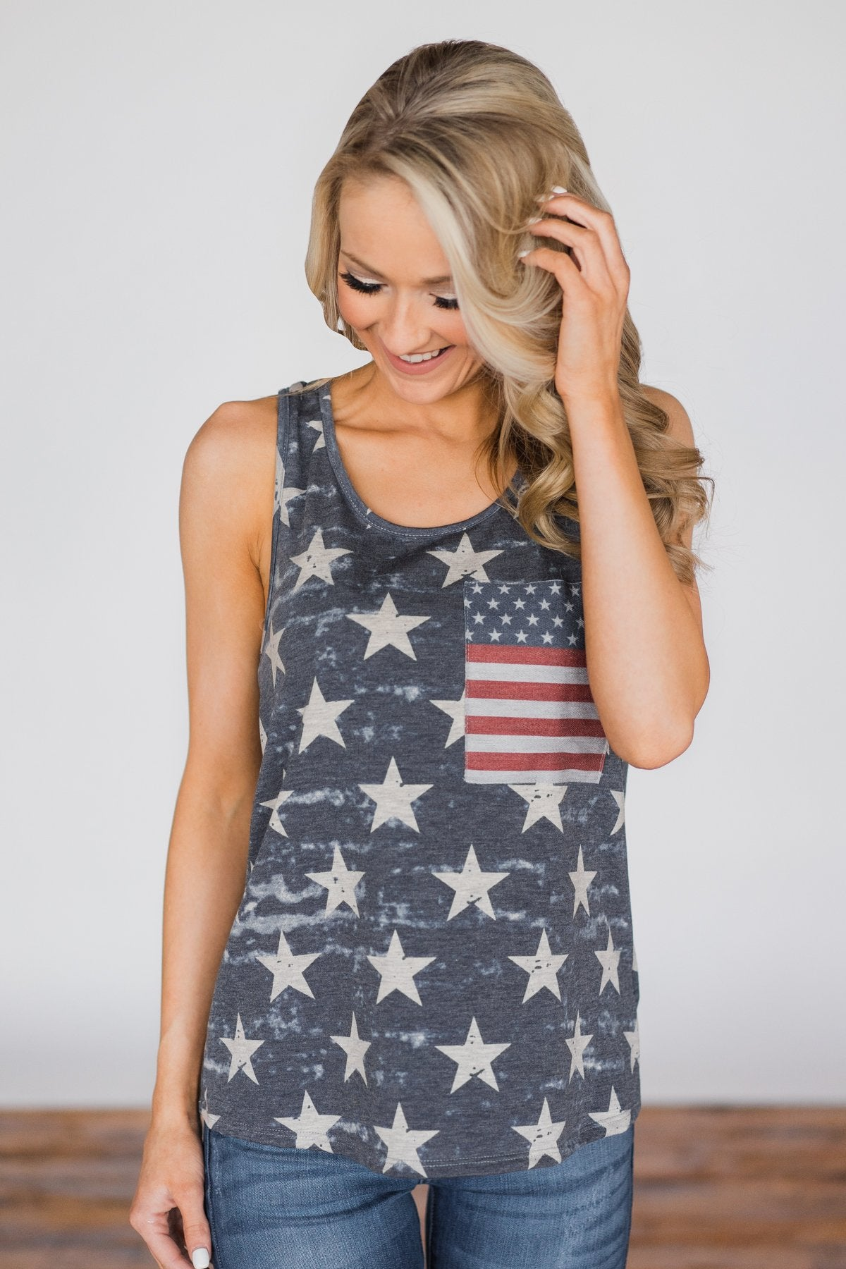 Stars, Stripes, and You Tank Top
