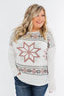 Winter Wonderland Thermal Top- Ivory