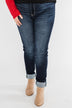 KanCan Non-Distressed Jeggings- Ashley Wash