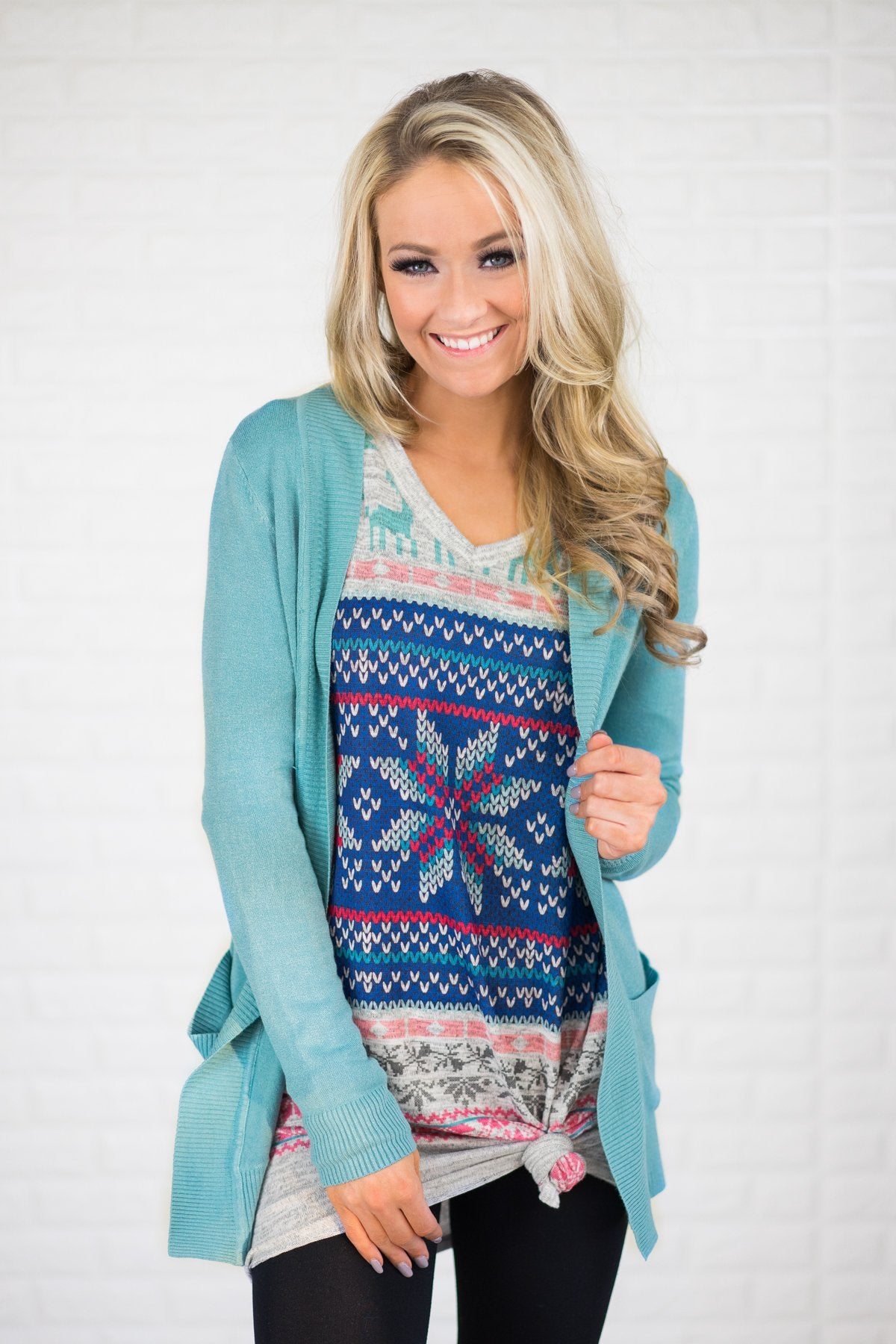 Essential Mint Cardigan