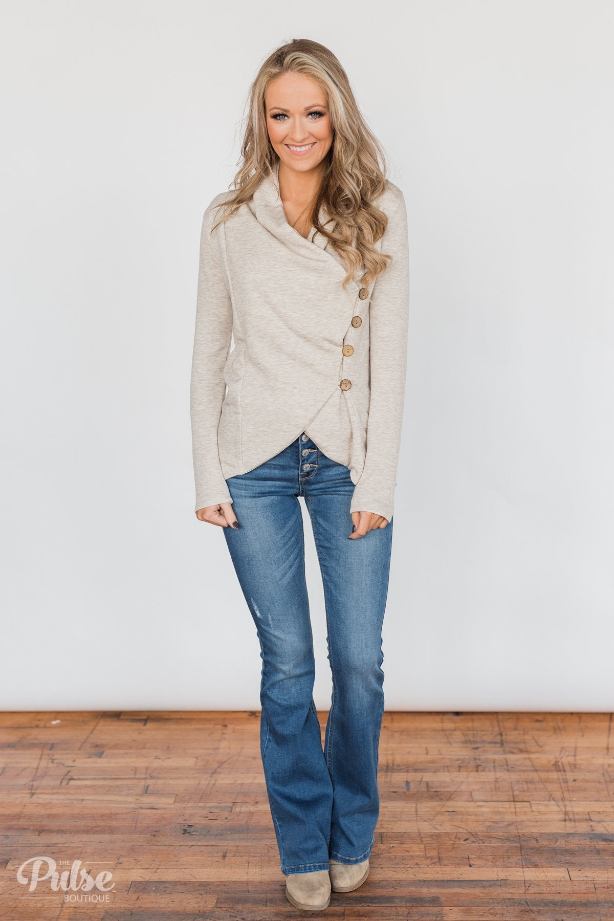 The Perfect Occasion Jacket- Oatmeal