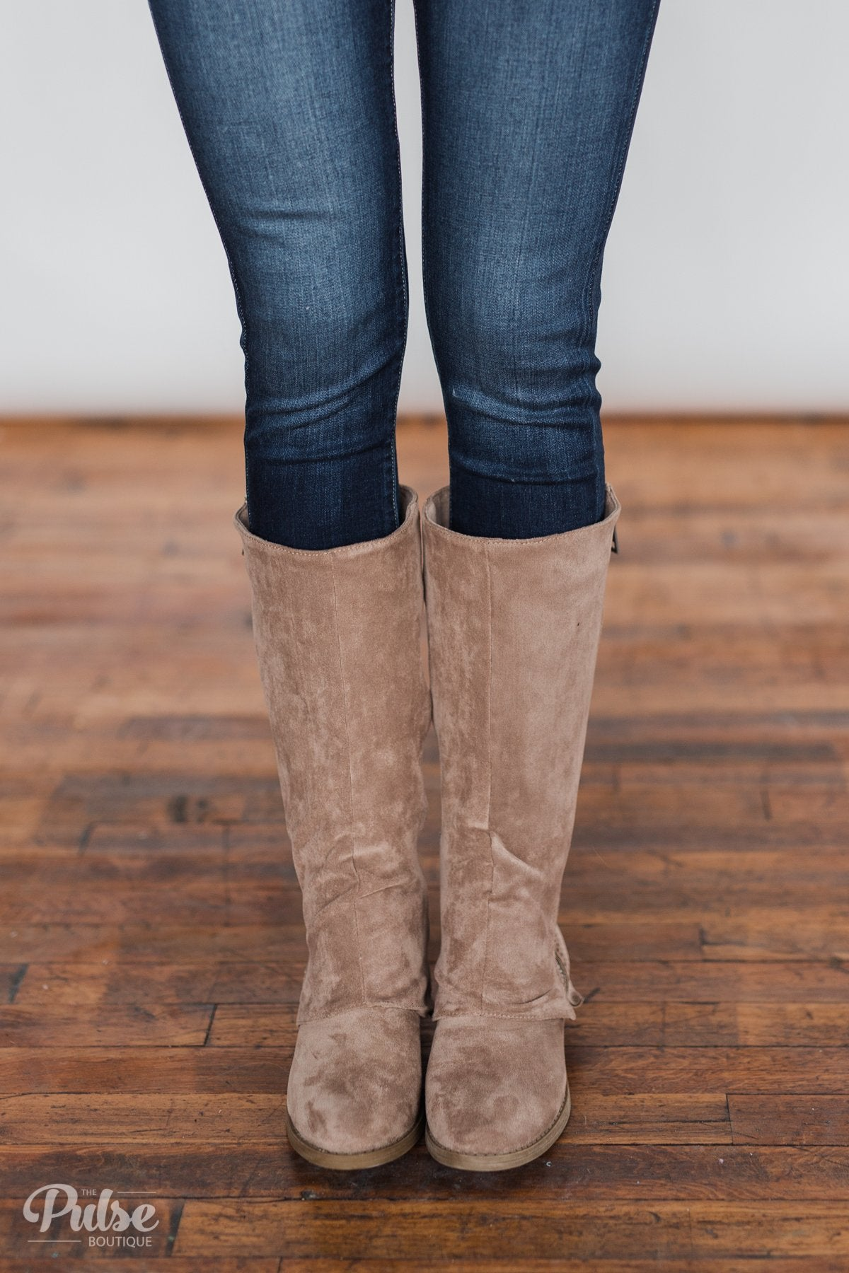 Very G Unstructured Boots- Taupe