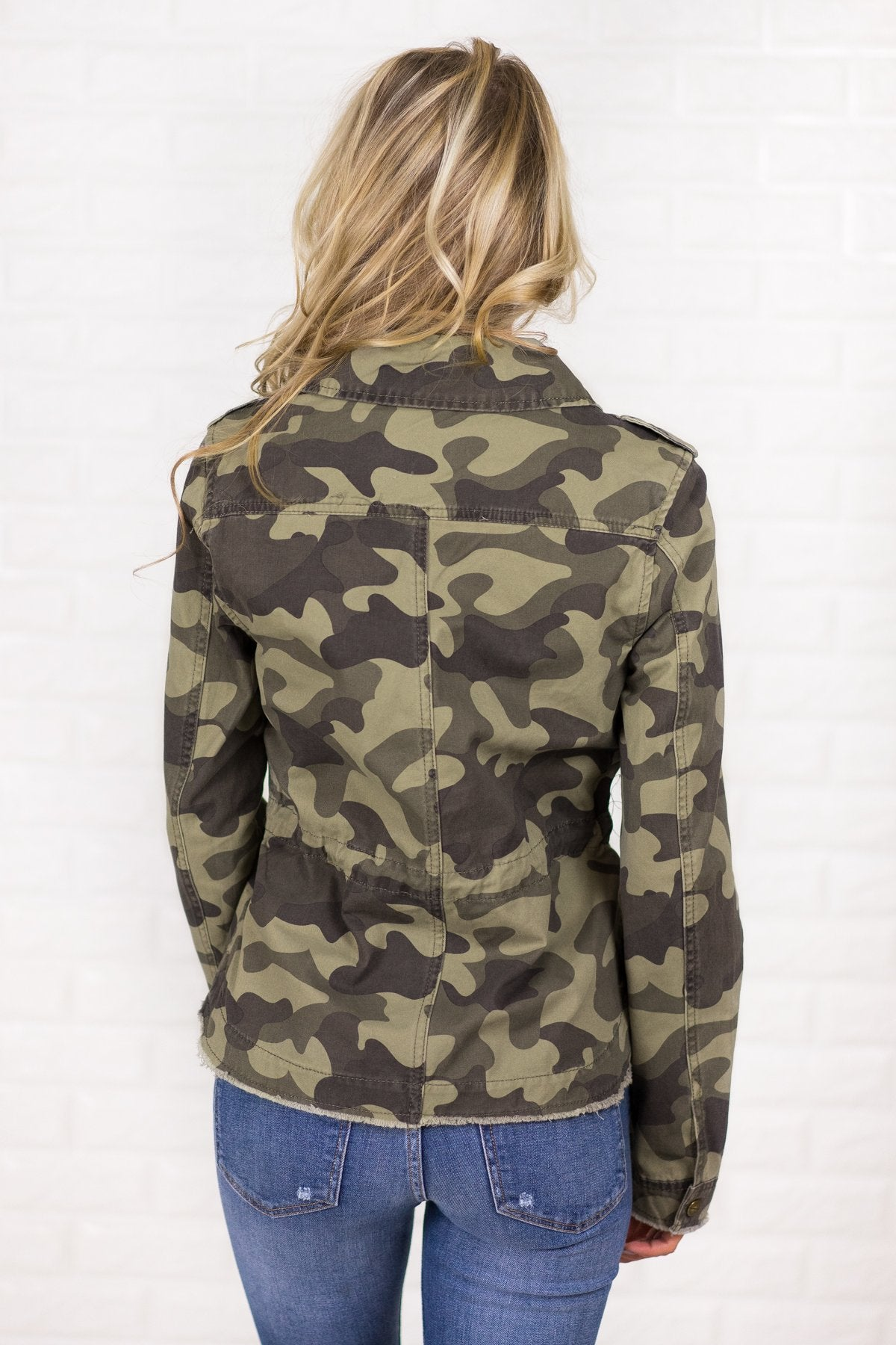 Can't Find Me Camo Jacket