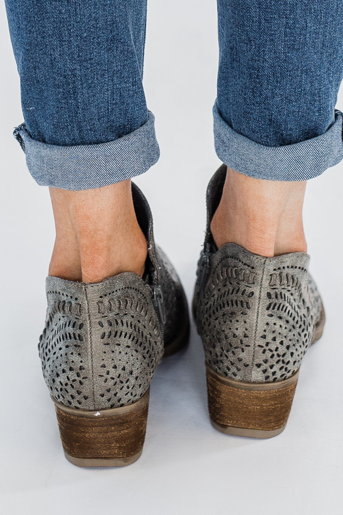 Not Rated Noka Booties- Grey