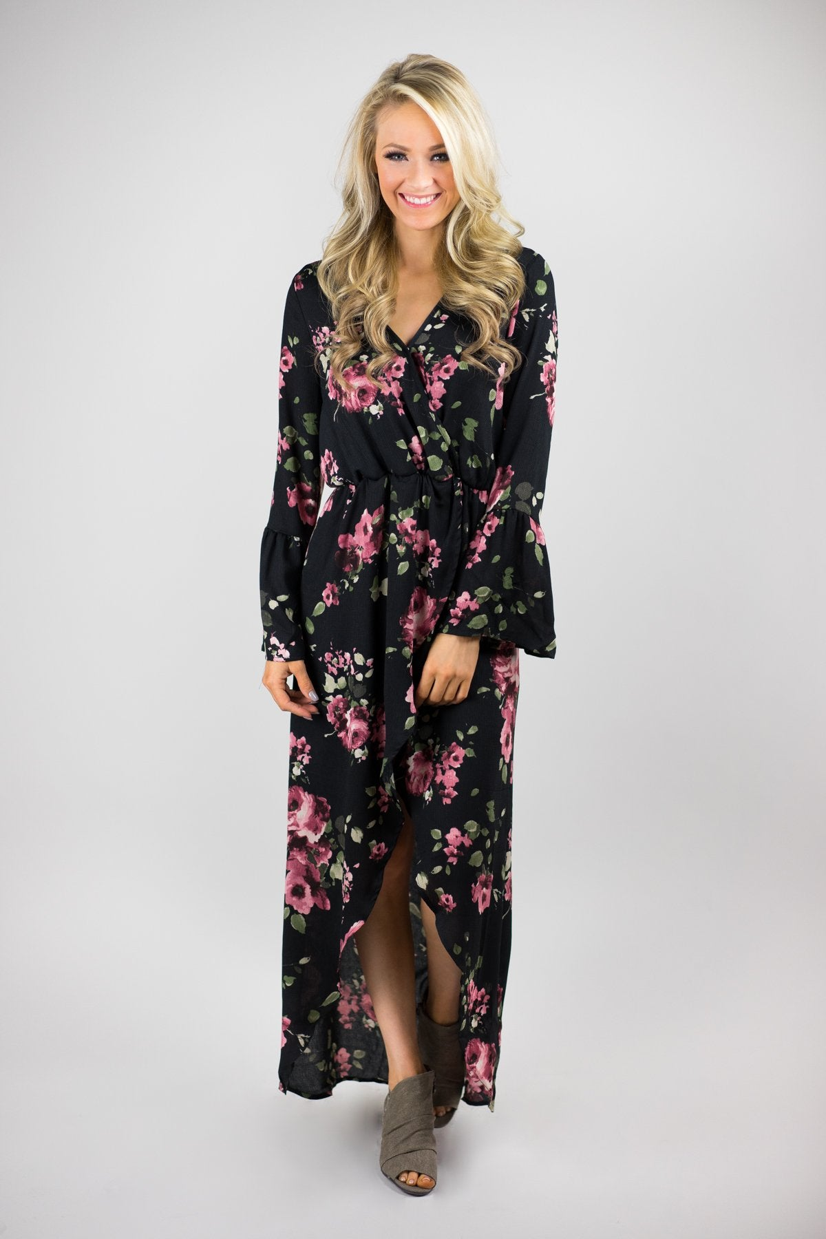 Steal the Scene Floral Maxi Dress