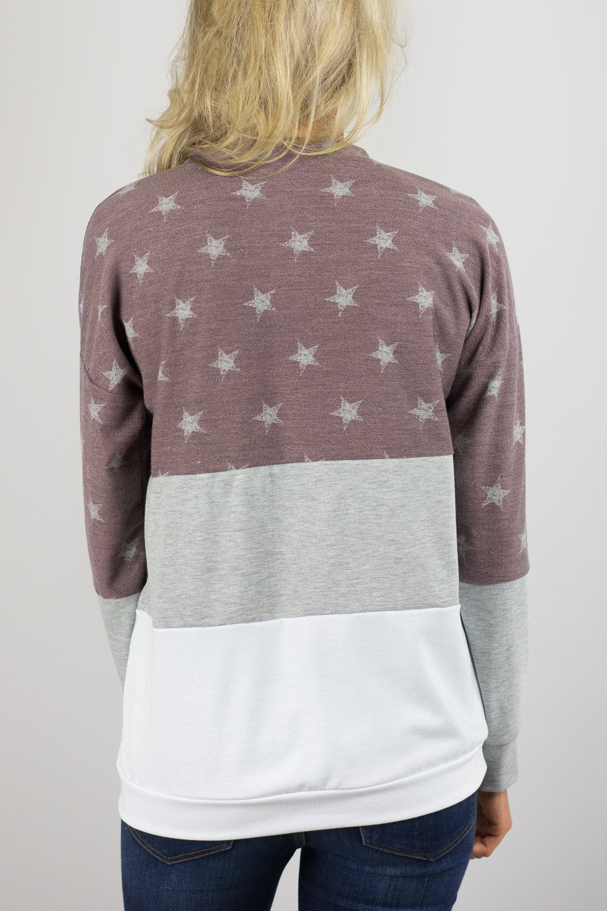 Be a Star Sweater - Rusty Red
