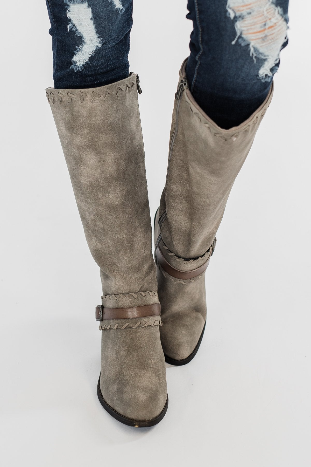 Blowfish Wednesday Boots- Steel Grey