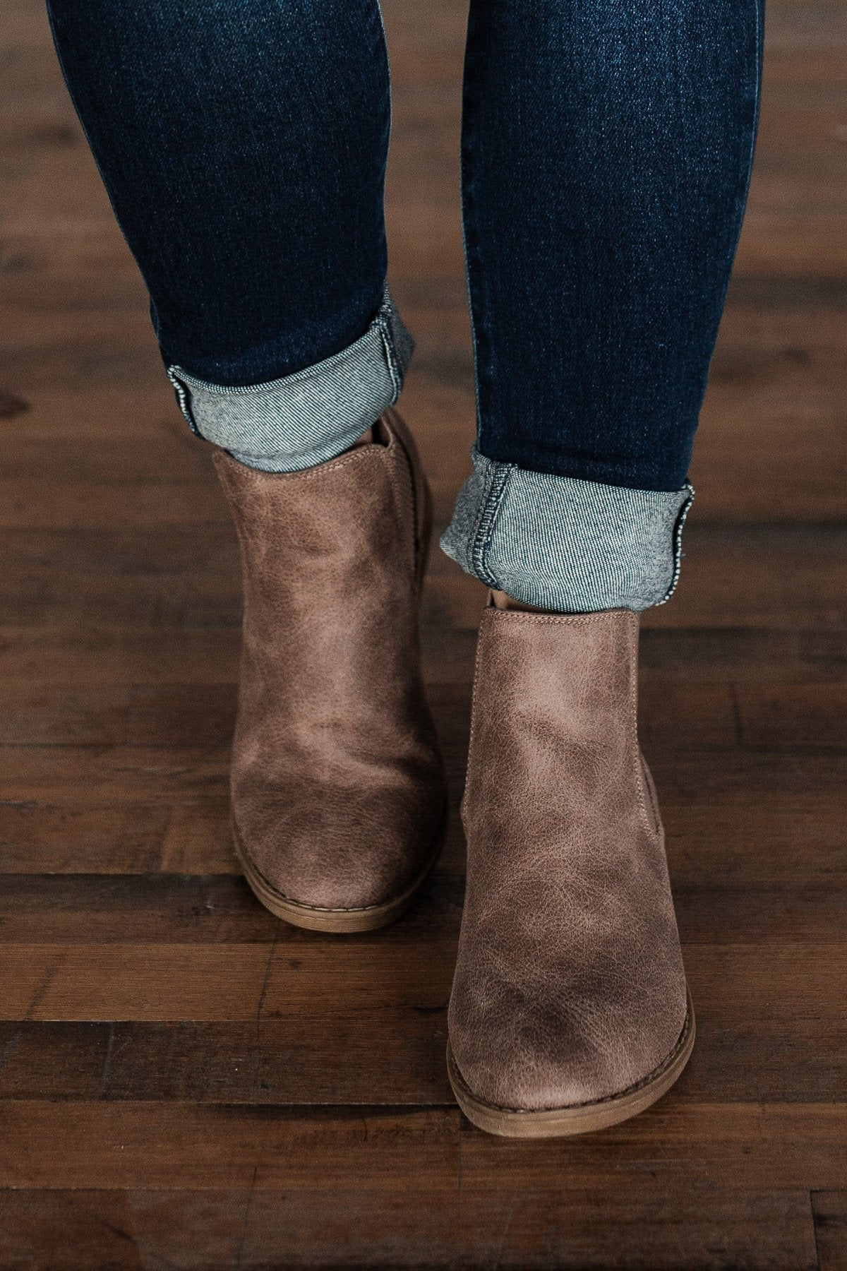 Very G Blake Booties- Beige