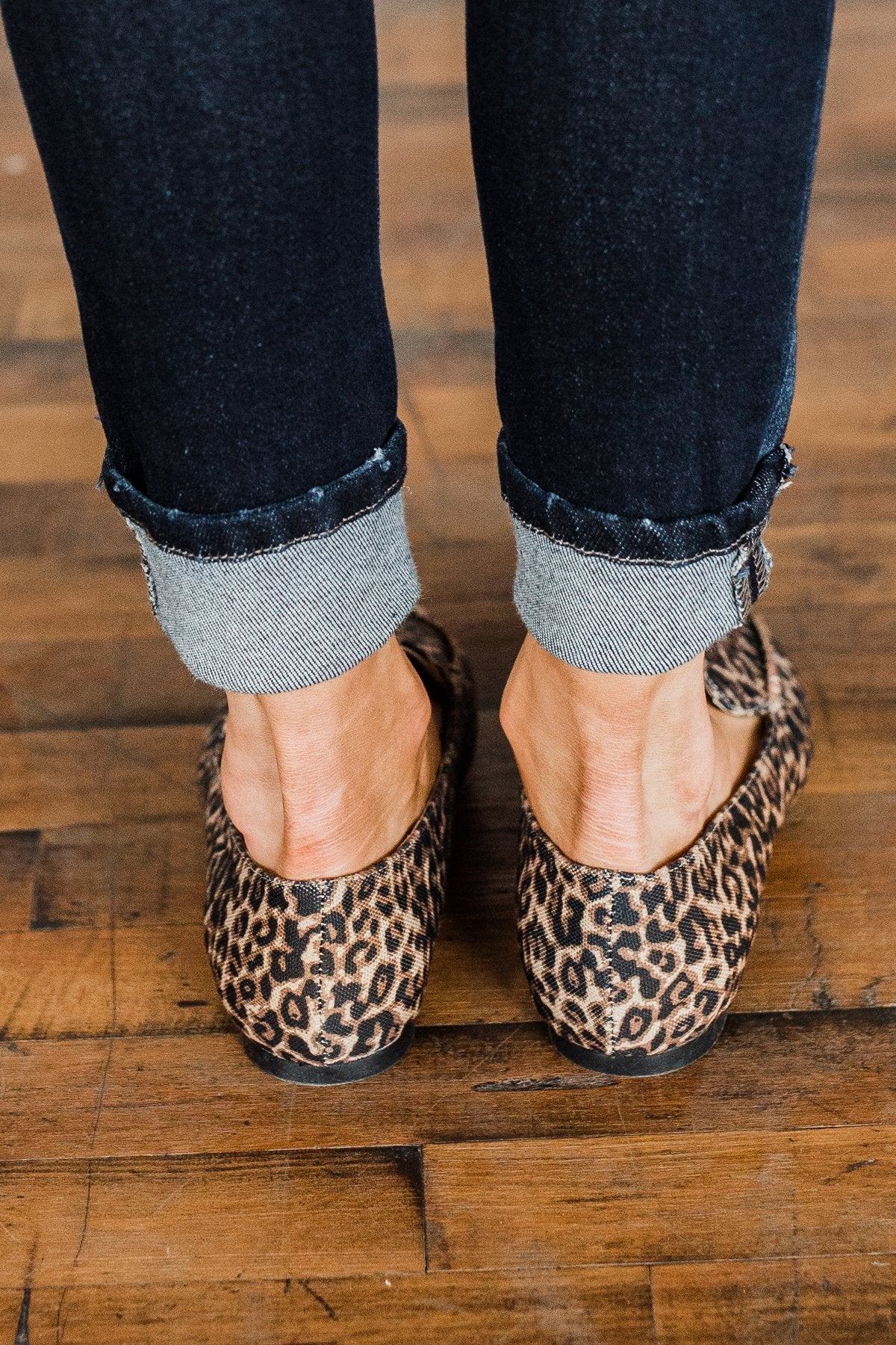Sugar Amore Loafers- Cheetah Print