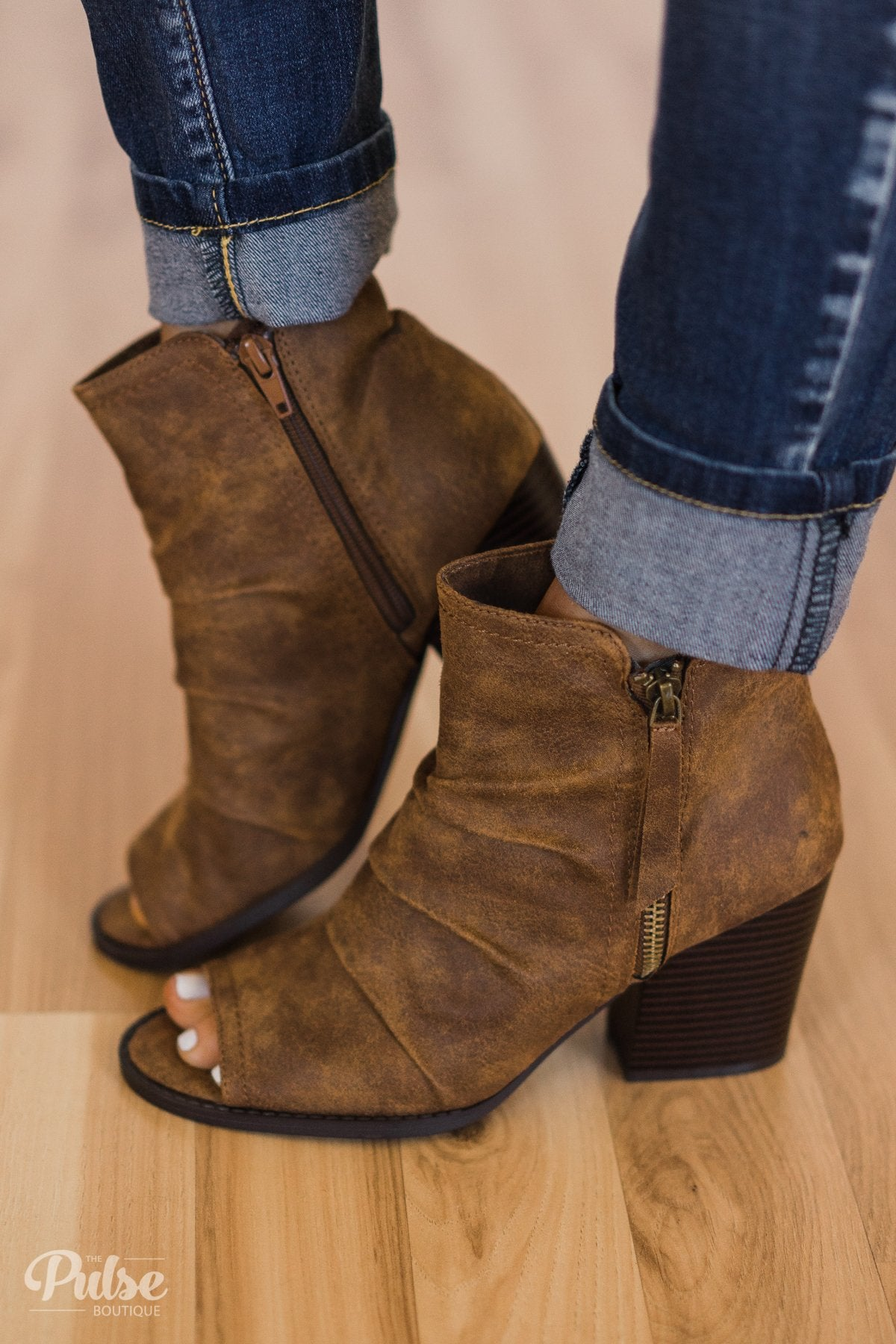 Very G Janice Booties- Grey
