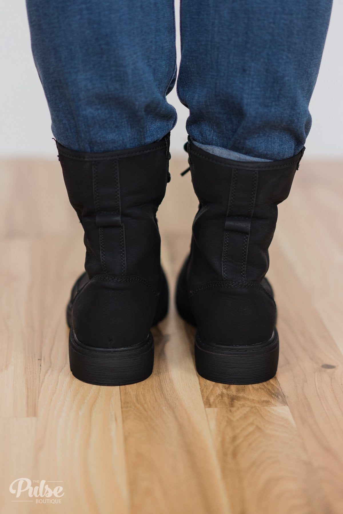 Very G Colonel Sanders Boots- Black