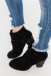 Very G Havana Booties- Black