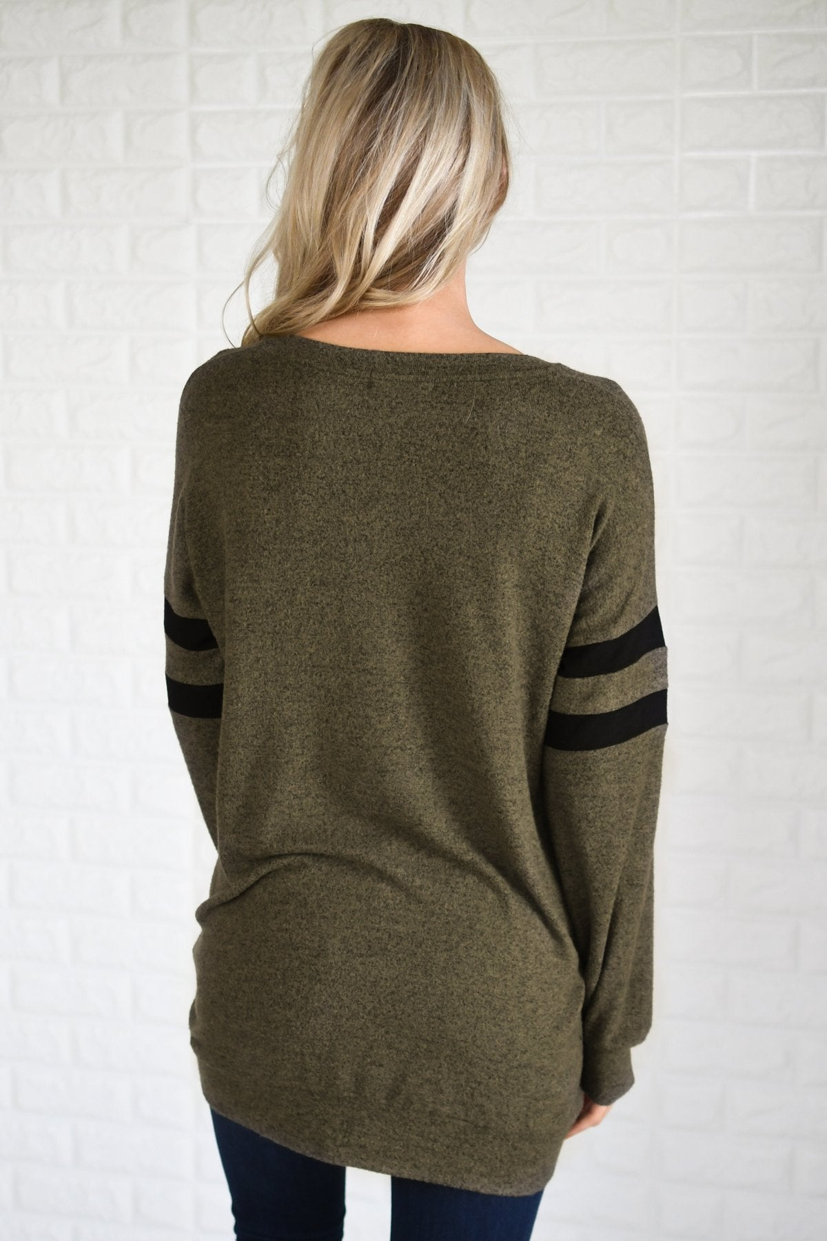 Always Cherished Top - Olive