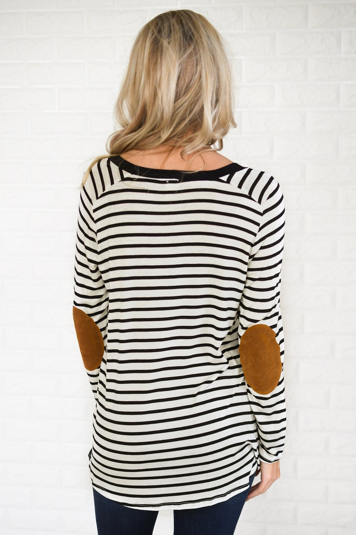Better Me Striped Top ~ Black